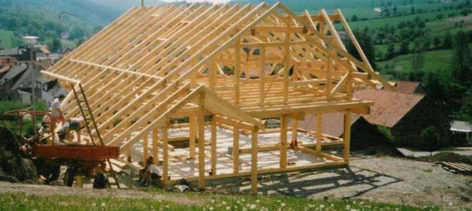 Holzskelettbau