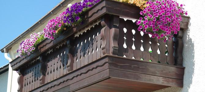 Balkonschmuck