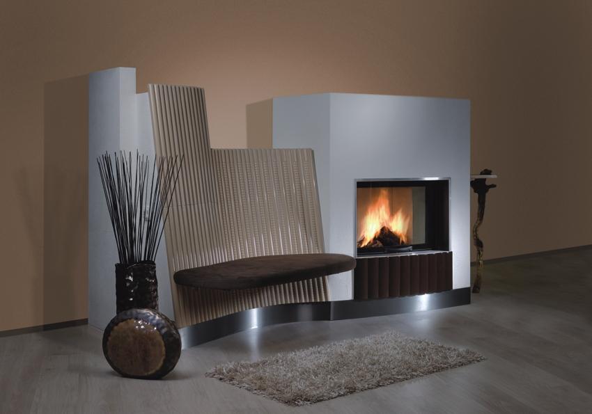 strahlungskachelofen. Black Bedroom Furniture Sets. Home Design Ideas